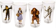 Wizard of Oz - Character Tumblers Set of 4 | Merchandise