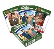 Parks And Recreation Playing Cards | Merchandise