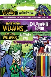 Dc Comics: Batman Villains Activity Bag (paperback) | Paperback Book
