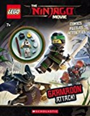 Garmadon Attack! (lego Ninjago Movie: Activity Book With Minifigure) | Paperback Book