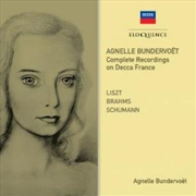 Agnelle Bundervoet - Complete Recording On Decca France | CD