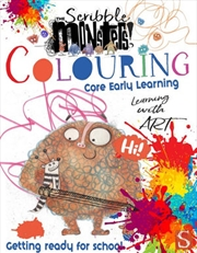 Scribble Monsters - Colouring | Paperback Book