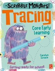 Scribble Monsters - Tracing | Paperback Book