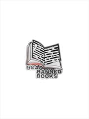 Read Banned Books Enamel Pin | Merchandise