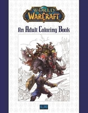 World Of Warcraft Adult Colouring Book | Paperback Book