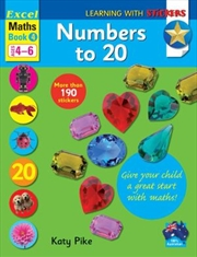 Numbers To 20 | Paperback Book