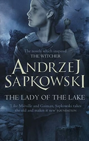 The Lady Of The Lake (witcher Saga 5) (the Witcher) | Paperback Book