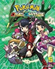 Pokémon Omega Ruby Alpha Sapphire, Vol. 5 (pokemon) | Paperback Book