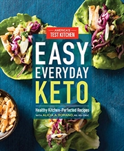 Easy Everyday Keto: Healthy Kitchen-perfected Recipes | Paperback Book