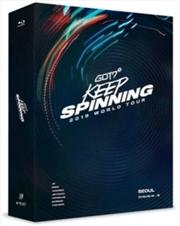 Got7 2019 World Tour - Keep Spinning | Blu-ray