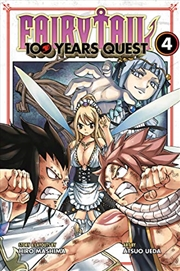 Fairy Tail: 100 Years Quest 4 | Paperback Book