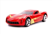 Flash - Chevy Corvette Stingray 2009 1:32 Scale Hollywood Ride | Merchandise