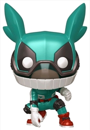 My Hero Academia - Izuku Midoriya Deku with Helmet Metallic US Exclusive Pop! Vinyl [RS] | Pop Vinyl