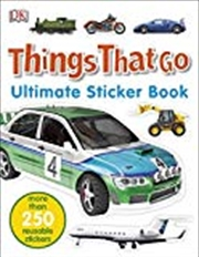 Things That Go Ultimate Sticker Book | Paperback Book