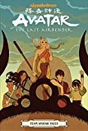 Avatar The Last Airbender - Team Avatar Tales   Paperback Book