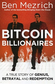 Bitcoin Billionaires: A True Story Of Genius, Betrayal And Redemption | Paperback Book