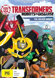 Transformers - Robots In Disguise - The Golden Knight | DVD