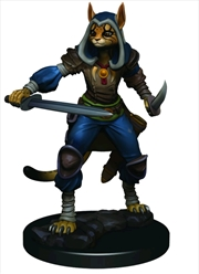 Dungeons & Dragons - Icons of the Realms Female Tabaxi Rogue Premium Miniature | Games
