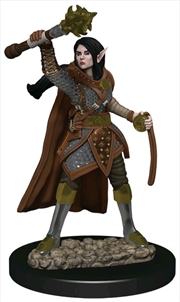 Dungeons & Dragons - Icons of the Realms Female Elf Cleric Premium Miniature | Games