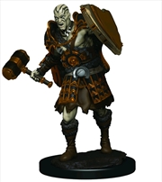 Dungeons & Dragons - Icons of the Realms Male Goliath Fighter Premium Miniature | Games
