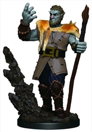 Dungeons & Dragons - Icons of the Realms Male Firbolg Druid Premium Miniature | Games