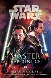 Master And Apprentice (star Wars) | Paperback Book