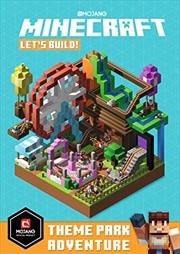 Minecraft Let's Build! Theme Park Adventure | Paperback Book