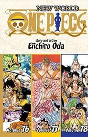 One Piece (omnibus Edition), Vol. 26: Includes Vols. 76, 77 & 78 (26) | Paperback Book
