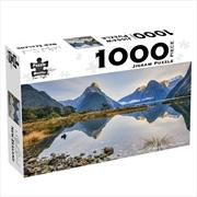 Milford Sound New Zealand 1000 Piece Jigsaw Puzzle | Merchandise