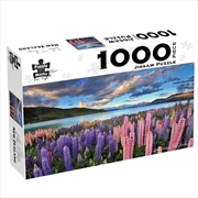 Lake Tekapo New Zealand 1000 Piece Jigsaw Puzzle | Merchandise