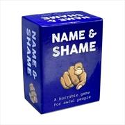 Name And Shame | Merchandise