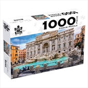 Trevi Fountain Rome 1000 Piece Puzzle | Merchandise