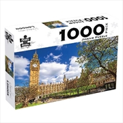 Big Ben London 1000 Piece Puzzle | Merchandise