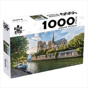 Notre Dame Paris 1000 Piece Puzzle | Merchandise