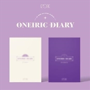 Oneiric Diary - Version 3 | CD