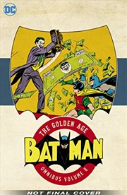 Batman: The Golden Age Omnibus Vol. 8 | Hardback Book