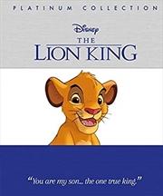 Disney The Lion King: Platinum Collection (platinum Collection Disney) | Hardback Book