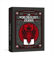 The Worldbuilder's Journal of Legendary Adventures (Dungeons & Dragons) | Hardback Book