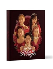 Red Velvet 3rd Concert - La Rouge Photobook And Live Album | Books