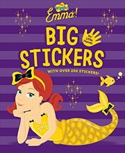 The Wiggles Emma! Big Sticker For Little Hands | Paperback Book