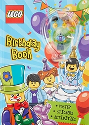 Lego Birthday Book | Paperback Book
