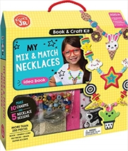 My Mix And Match Necklaces | Paperback Book