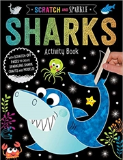 Scratch And Sparkle Sharks Activty Book | Paperback Book