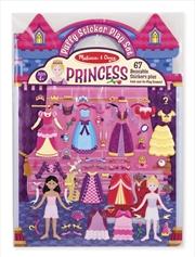 Puffy Sticker Play Set: Princess | Books