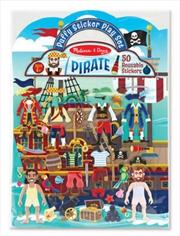 Puffy Sticker Play Set: Pirate | Books