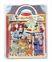 Puffy Sticker Set: Pet Place | Books