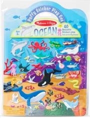 Puffy Sticker Play Set: Ocean | Books