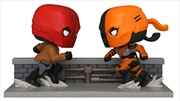 DC Comics - Red Hood vs Deathstroke Comic Moment US Exclusive Pop! Vinyl | Pop Vinyl