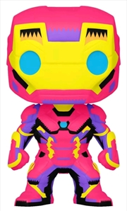 Iron Man - Iron Man Black Light US Exclusive Pop! Vinyl [RS] | Pop Vinyl