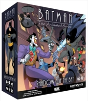 Batman: The Animated Series - Shadow of the Bat Board Game | Merchandise